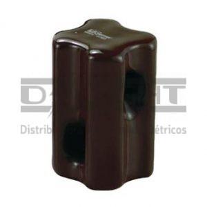 Isolador Castanha de Porcelana 60x40mm