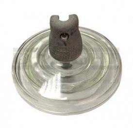 Isolador de Disco Concha Bola de Vidro