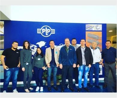 Visita a fábrica da PLP